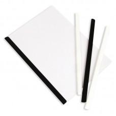 Скрепшина пластиковая А4 черная (до 50 листов)