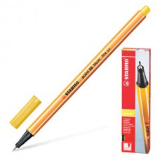 Ручка капиллярная (линер) Stabilo Point 88 0.4 мм желтая в Екатеринбурге