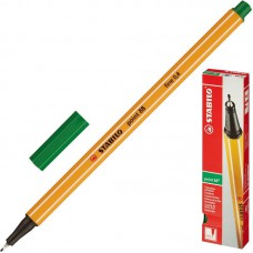 Ручка капиллярная (линер) Stabilo Point 88 0.4 мм зеленая