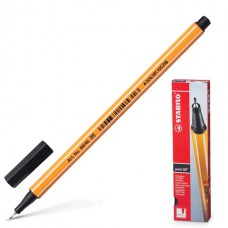 Ручка капиллярная (линер) Stabilo Point 88 0.4 мм черная