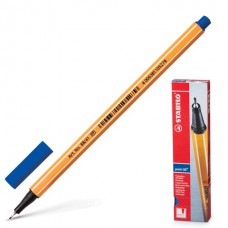 Ручка капиллярная (линер) Stabilo Point 88 0.4 мм. синяя