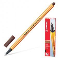 Ручка капиллярная (линер) Stabilo Point 88 0.4 мм. коричневая
