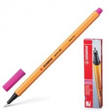Ручка капиллярная (линер) Stabilo Point 88 0.4 мм. розовая