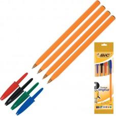 Набор шариковых ручек BIC Orange (толщина линии 0.35 мм/4 шт)