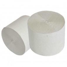 Бумага туалетная 1слойная без втулки (40шт/уп) ассорти