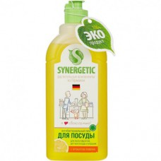 Моющее средство антибактериальное  для посуды  SYNERGETIC 500мл.
