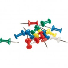 Кнопки силовые цветные,ассорти  (10 мм.50 шт/уп)