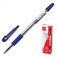 Ручка шариковая CELLO PRONTO 0.5 /игольчатый наконечник, резиновый упор/ синяя