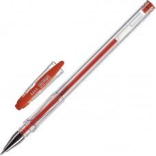 Ручка гелевая Attache City 0,5мм.красная