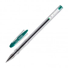 Ручка гелевая Attache City 0,5мм. зеленая