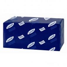 Салфетки бумажные 24*24 (400шт/уп.) синие