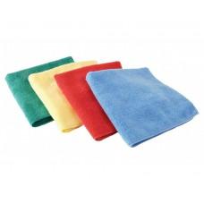 Салфетки  микрофибра  универсальные цветные 30х30см (4 шт)ассорти
