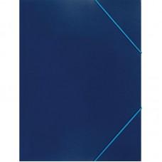 Папка на резинке Attache А4 пластиковая синяя (0.35 мм, до 300 листов)