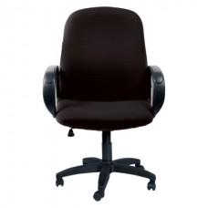 """Кресло """"Практик"""" черное (ткань,платик)"""