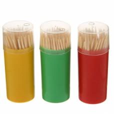 Зубочистки в футляре (100 шт/уп.)