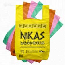 """Пакет майка 30*55 """"NIKАS"""" цветной 35 мк. (100шт/уп)"""