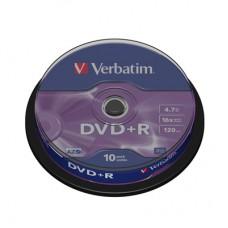 Диск DVD+R (10шт/уп.) Verbatim 4.7 Гб 16х в Екатеринбурге