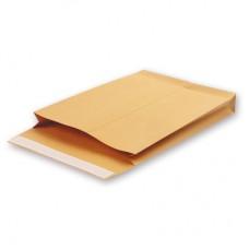 Пакет Крафт 229*324*40 мм С4 силикон с боковым расширением(130 г/кв.м, 200 штук в упаковке)