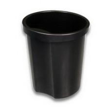 Корзина для бумаг 12 л. Стамм черная