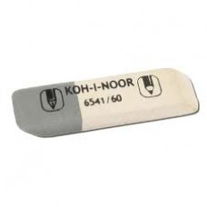Ластик KOH-I-NOOR  бело-серый,  45*13*7 мм