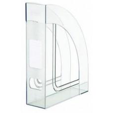"""Лоток вертикальный """"Стамм"""" Респект 7 см прозрачный"""