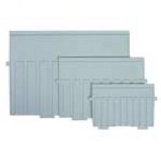 Разделитель пластиковый для картотеки А5  955-0/955