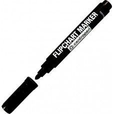 Маркер на водной основе для флипчарта Centropen Flipchart 8550 черный