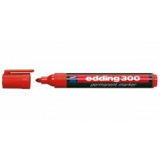 Маркер перманентный Edding Е-300 красный (1,5-3мм)