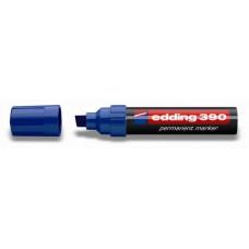 Маркер перманентный Edding Е-390 скошенный наконечник, синий