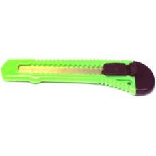 Нож канцелярский 18мм. ассорти