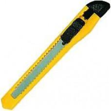 Нож канцелярский 9мм. ассорти