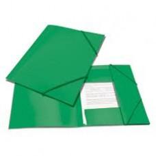 Папка на резинке Attache А4 пластиковая зеленая (0.45 мм, до 100 листов)