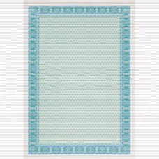Сертификат-бумага Decadry А-4  (вод. знаки) синяя (25л/уп)