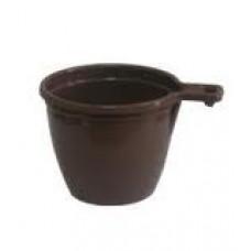 Чашка одноразовая кофейная коричневая (50 шт/уп.)