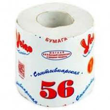 "Бумага туалетная ""Сыктывкарская""с перфорацией 56м."