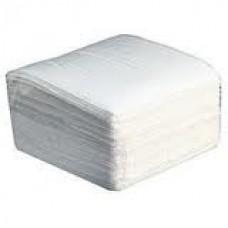 Салфетки  бумажные 25*25 белые (100 шт/уп.)