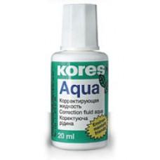 Штрих Kores AQUA 20мл. с апликатором на водной основе