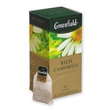Чай Greenfield Rich Camomile трявяной (ромашка, яблоко, корица) 25 пакетиков