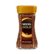 Кофе Nescafe Gold, 190г, растворимый в стеклянной банке