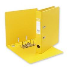 Регистратор Bantex А4 50мм ПВХ двухсторон. желтый