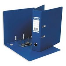 Регистратор Bantex А4 70мм ПВХ двухсторонний синий
