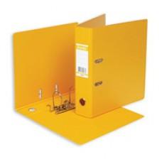 Регистратор Bantex А4 70мм ПВХ двухсторон. желтый