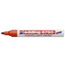 Маркер специальный Edding Е-8750 для промышленной графики, красный