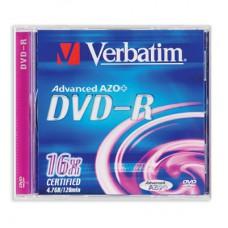 Диск DVD-R VERBATIM 4.7Гб