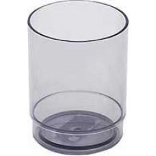 Стакан Стамм Офис для ручек прозрачно-серый СН15