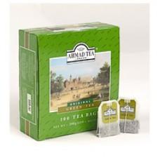 Чай Ahmad Tea Green зеленый, 100 пакетиков