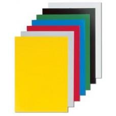 Обложки картонные глянцевые для переплета документов А4 100 шт/уп. синие