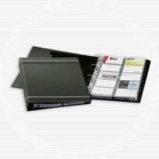 Визитница Durable Visifix А4 на 4-х кольцах 400 карточек