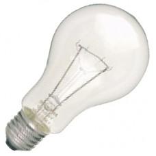 Лампа накаливания, стандартная прозрачная, 60 Вт, цоколь E27