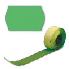 Лента для этикет пистолета 26*16мм волна зеленая (10 рул/уп.)